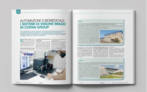 Automation & Biomedical: Imago vision systems in Copan Group